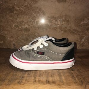 Vans Toddlers Boys Gray Sneakers size 5